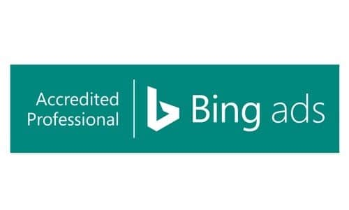 Badge Bing ads