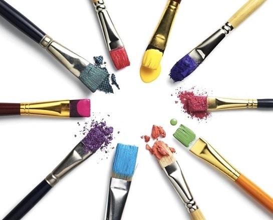Psychologie des couleurs palette